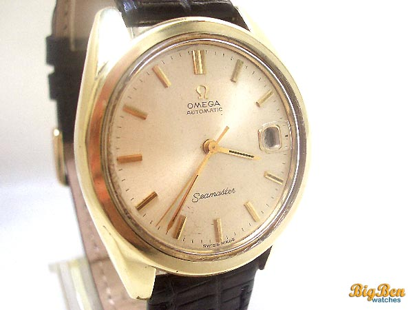 omega seamaster automatic date watch
