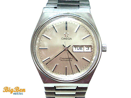 authentic omega seamaster automatic day-date watch