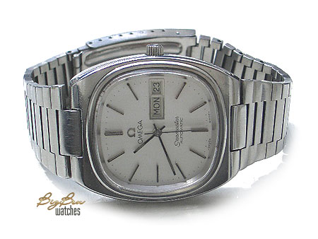 vintage omega seamaster automatic day-date watch