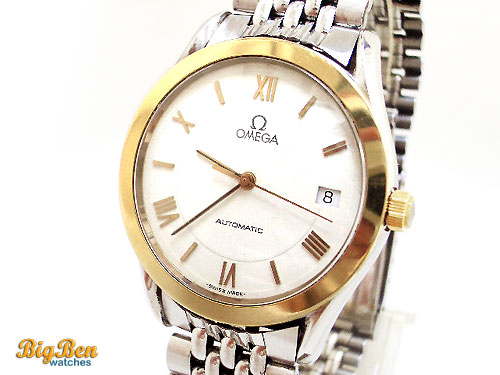 omega classic automatic date watch
