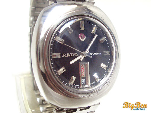 rado cape horn automatic day-date watch