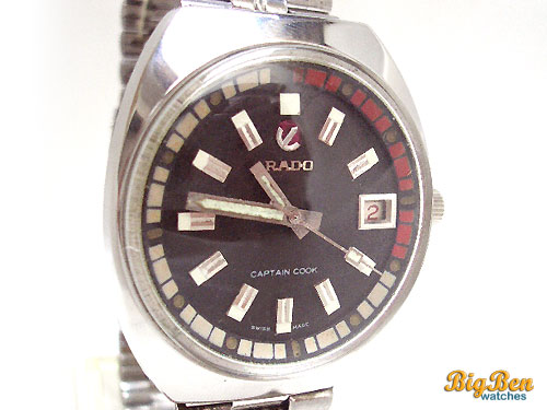 rado captain cook automatic date watch