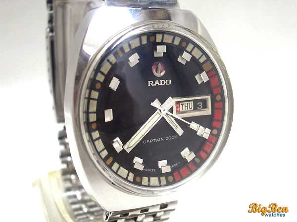 rado captain cook automatic day-date watch