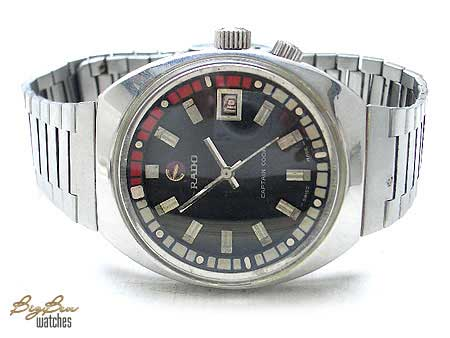 authentic rado captain cook automatic date watch
