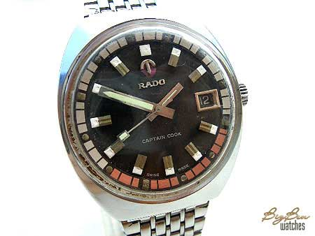 genuine rado captain cook automatic date watch