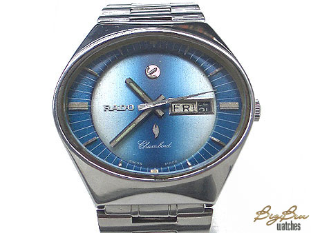 rado chamlord automatic day-date watch