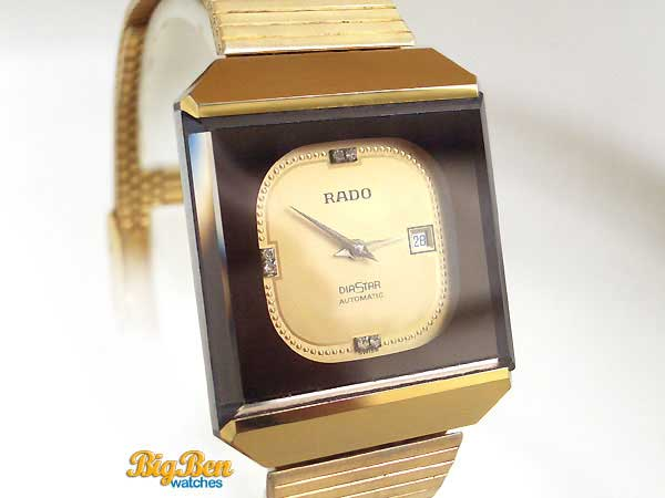 rado diastar automatic date watch