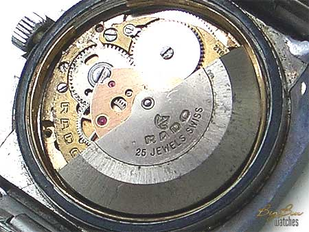 rare rado diastar automatic date watch
