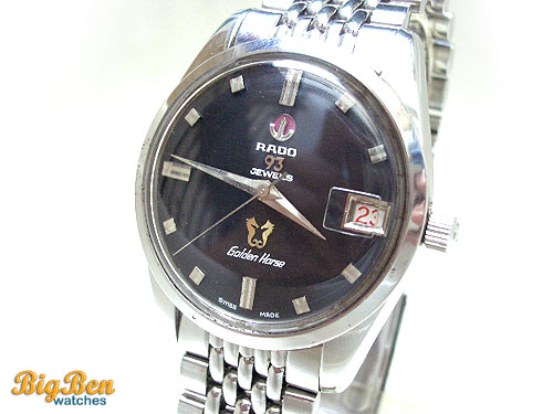 rado golden horse 93 automatic date watch