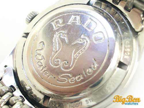 rado green horse automatic date watch