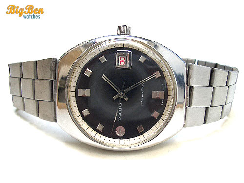 rare rado marco polo automatic date watch