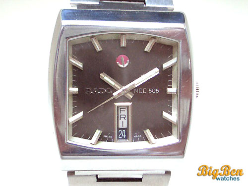 rado ncc 505 automatic day-date watch