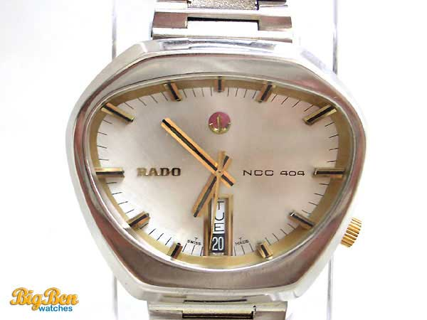 rado ncc 404 automatic day-date watch