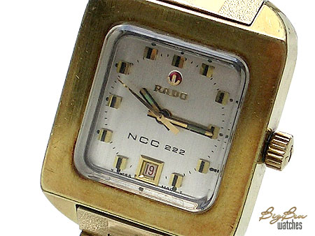 rado ncc 222 automatic date watch