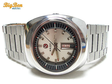 original rado over pole 180 automatic day-date watch