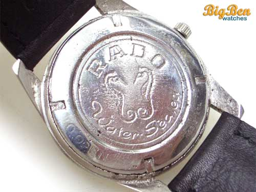 rado purple horse manual-wind date watch