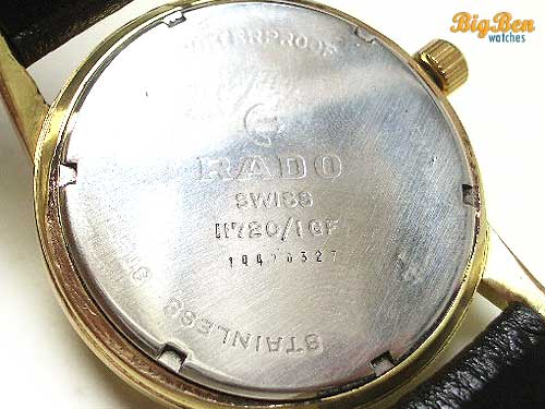 original rado president manual-wind watch