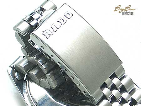 rado purple horse automatic day-date watch