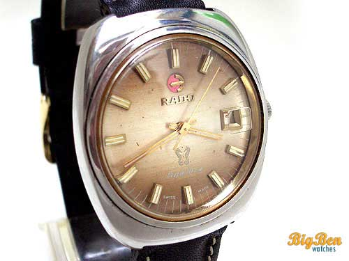 original rado purple horse automatic date watch