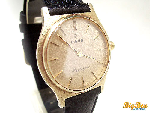 rado royal elegance vermeil manual-wind watch