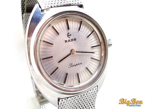 rado simplon manual-wind watch