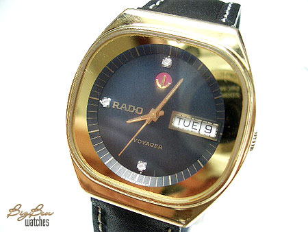 rado voyager automatic day-date watch