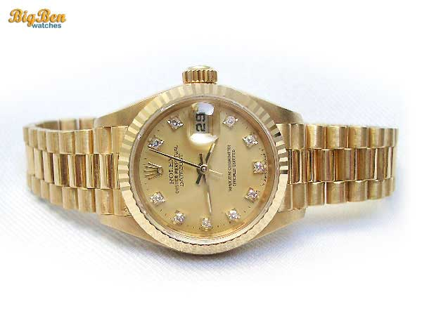 rolex president oyster perpetual datejust automatic watch