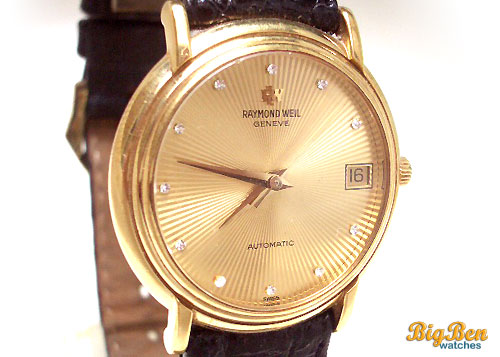 raymond weil geneve automatic date watch