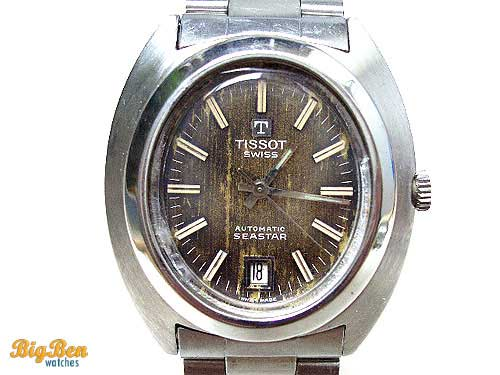genuine tissot automatic date watch