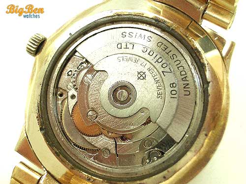 original zodiac astro II automatic watch