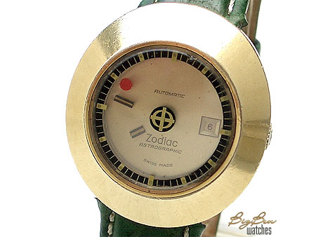 zodiac astrographic automatic floating hands date watch