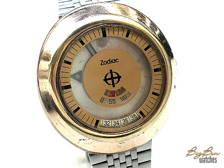 zodiac astrographic dual-time automatic date watch