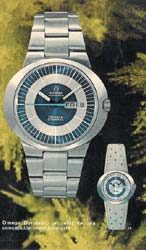 omega geneve dynamic print advertisement