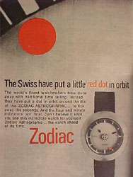 zodiac astrographic sst print advertisement