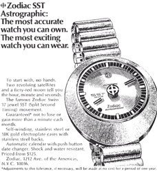zodiac astrographic sst vintage ad