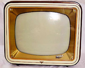 tavasz videoton t-4303 retro tv set