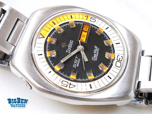 ZODIAC Sea Wolf SST 36000 Automatic Watch by Big Ben Watches